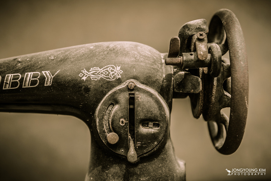 Photograph Retired sewing machine by JongYoung Kim on 500px