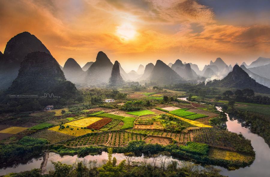 Chinese garden by Daniel Metz on 500px.com
