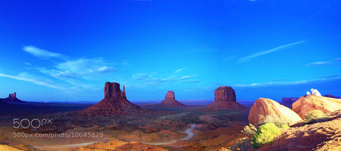 Photograph Once upon a time in Monument Valley by Dhilung Kirat on 500px