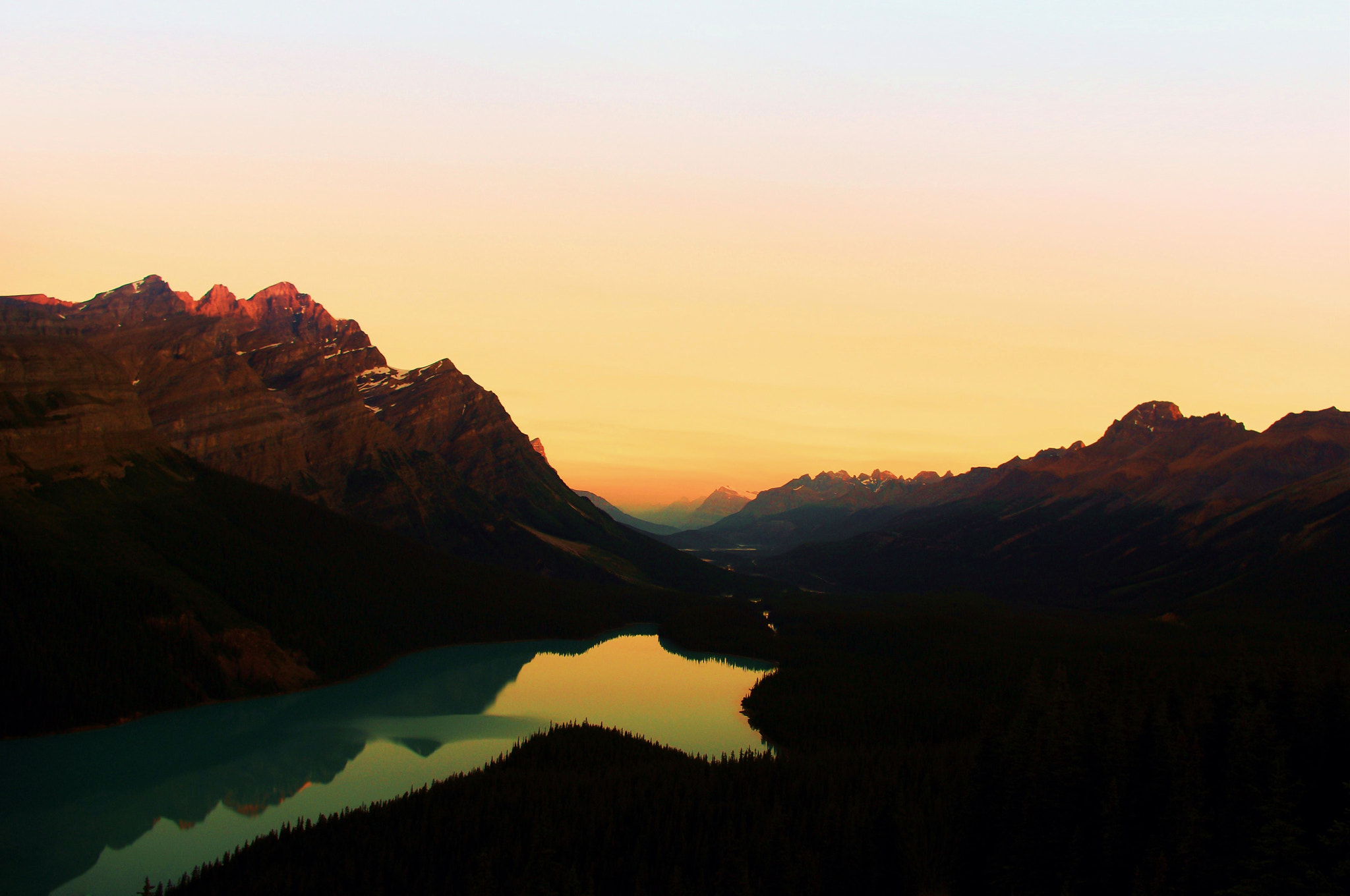 Photograph Sunrise, Peyto Lake. by Jag Canape on 500px
