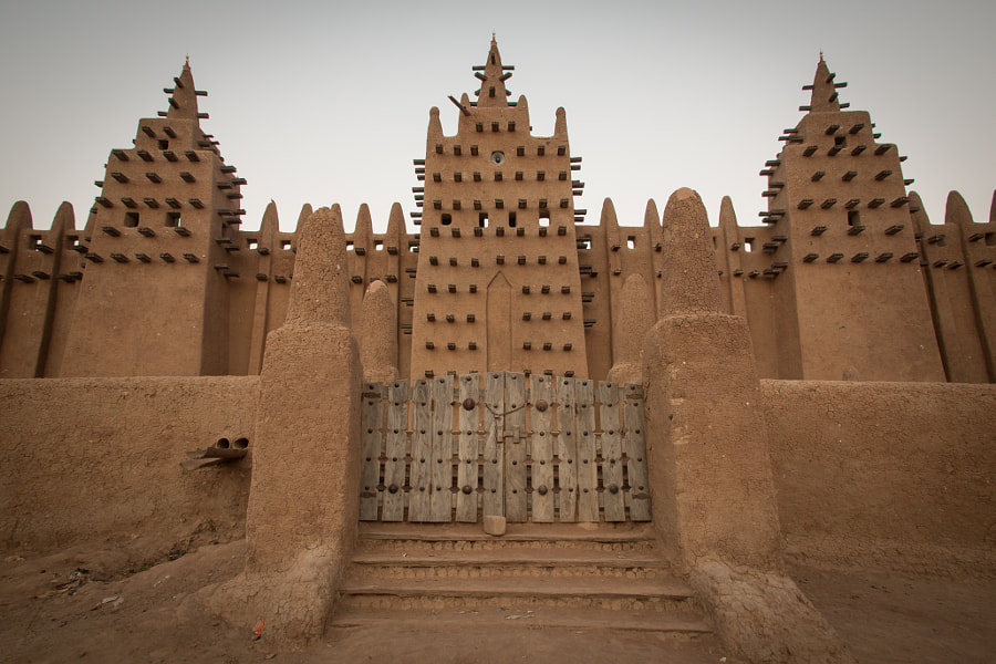 The Great Mosque of Djenné by Ada Mont on 500px.com