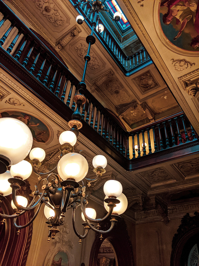 Interior shot of Victoria Mansion by Eric Salim on 500px.com