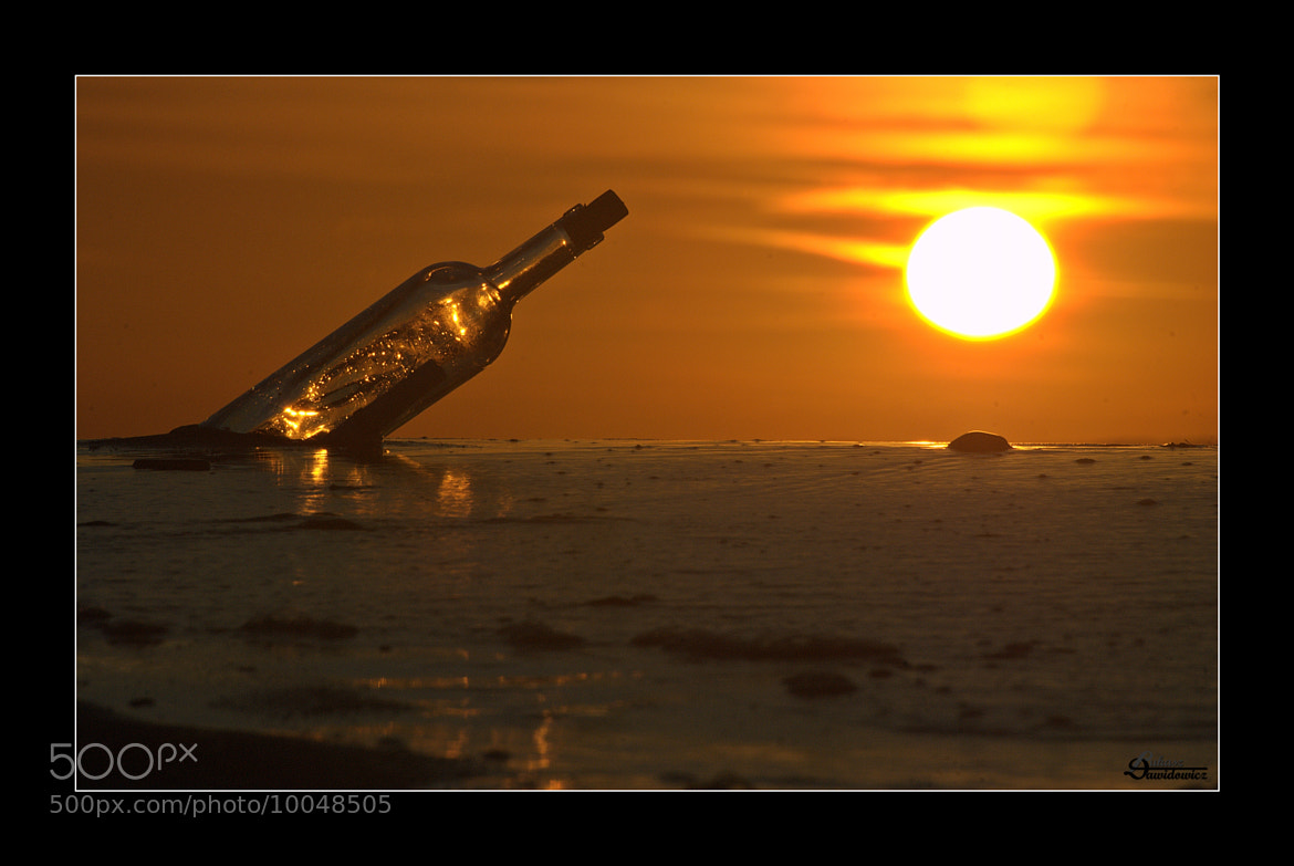 Photograph Message in a bottle by Lukasz Dawidowicz on 500px