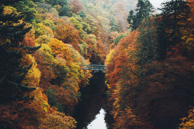 River Garry by Daniel Casson