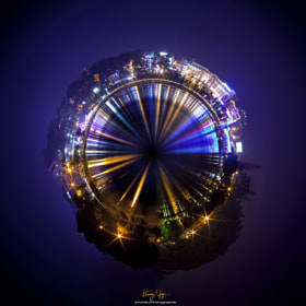 Colourful miniplanet by Hoang Nguyen (The_Eye)) on 500px.com