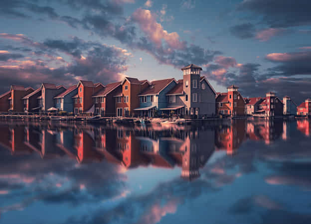 Floating Houses. by Remo Scarf