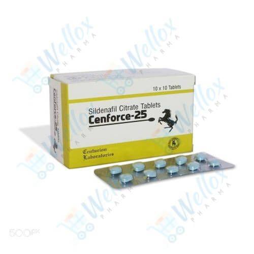 Cenforce 25 Mg Sildenafil - Buy Generic Viagra