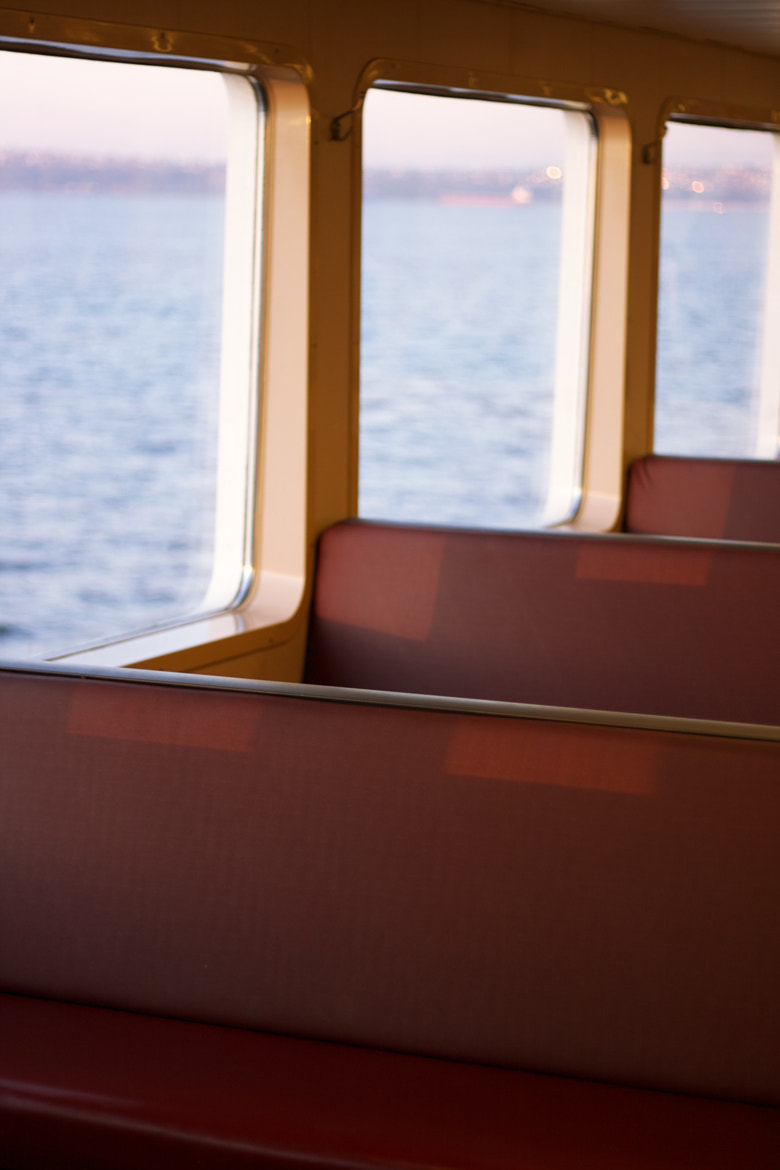 Photograph Seating on the Ferry by Noah Read on 500px