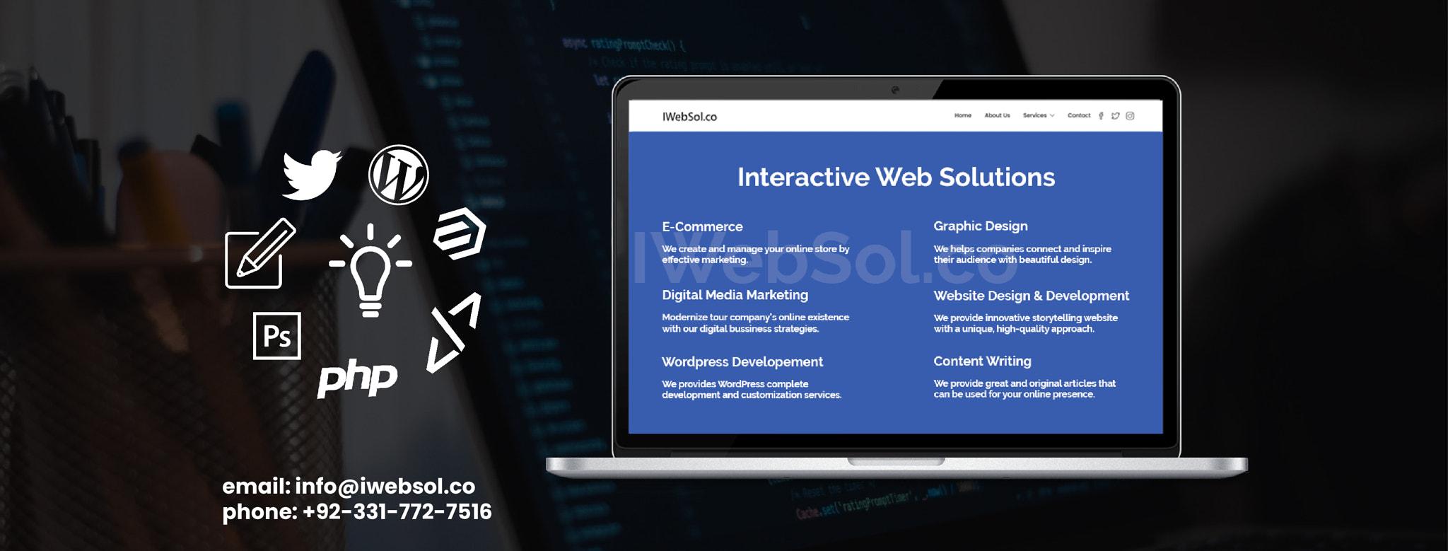Website Design & Development Company - iWebSol