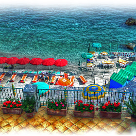 Capri - Red Umbrellas by Mark Luftig (MarkLuftig)) on 500px.com