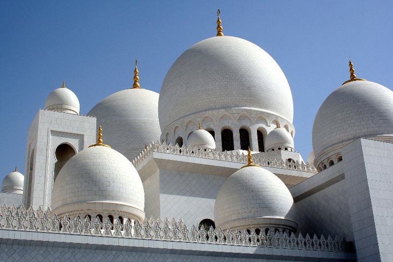 Photograph Domes of Sheikh Zayed Mosque by Mohamed Marwen Meddah on 500px