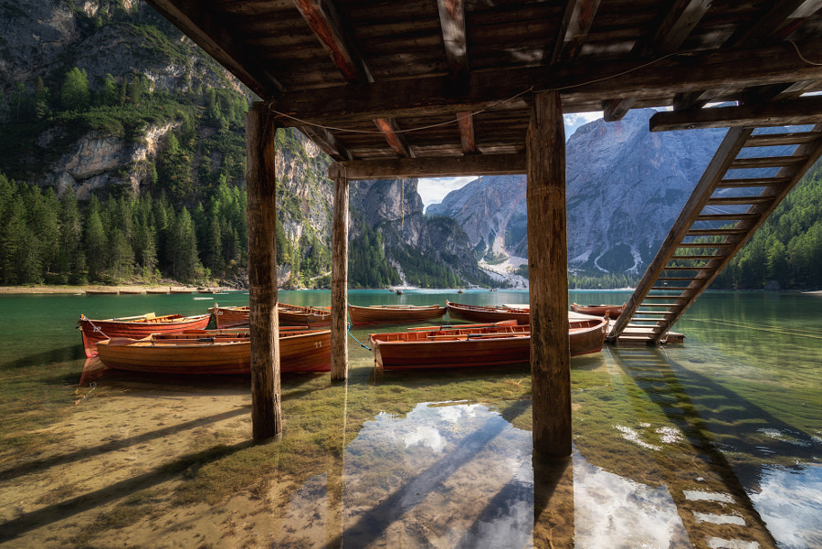 Lago di Braies by Alessandro laurito on 500px.com