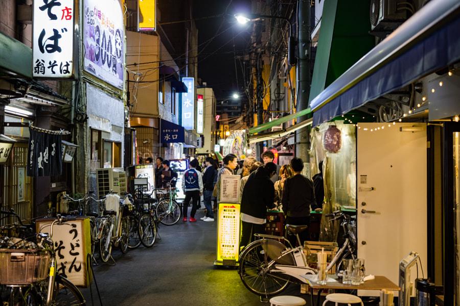 Bar street in Asakusa, Japan. by Tsukasa Nishiyama | 500px.com