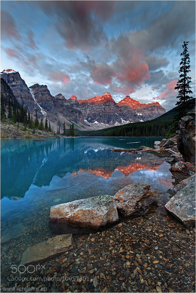 Photograph Valley of the Ten Peaks by Christian Klepp on 500px