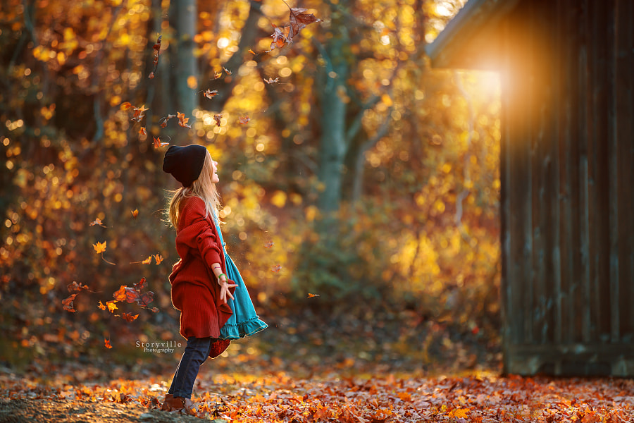 Autumn Leaves by Heather Smith on 500px.com