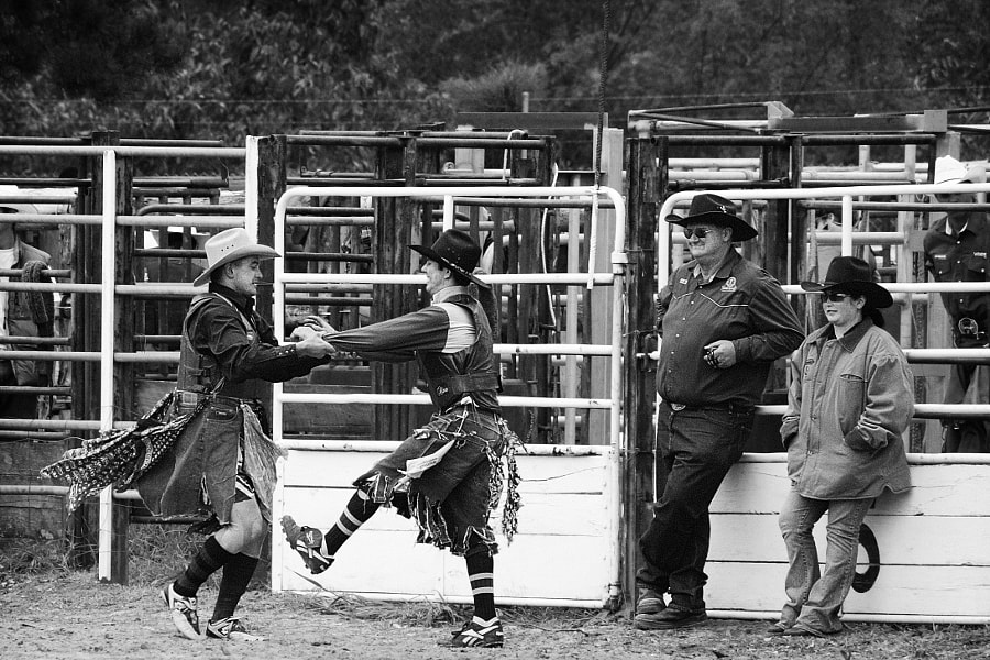 Rodeo Clowns Clowning by Paul Amyes on 500px.com