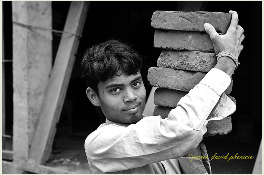 Nepal Series:  Brick Carrier