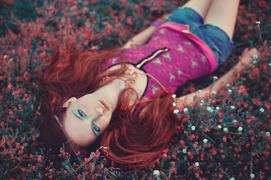 Photograph Red hair baby by Nikita Ostroymov on 500px