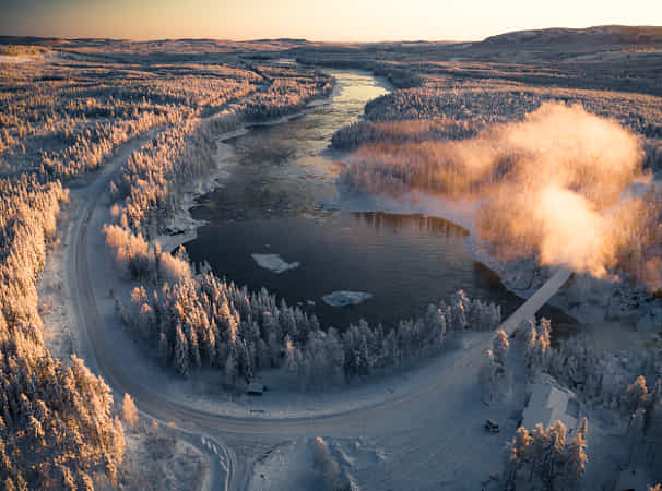 This is arctic Sweden by Tobias Hägg