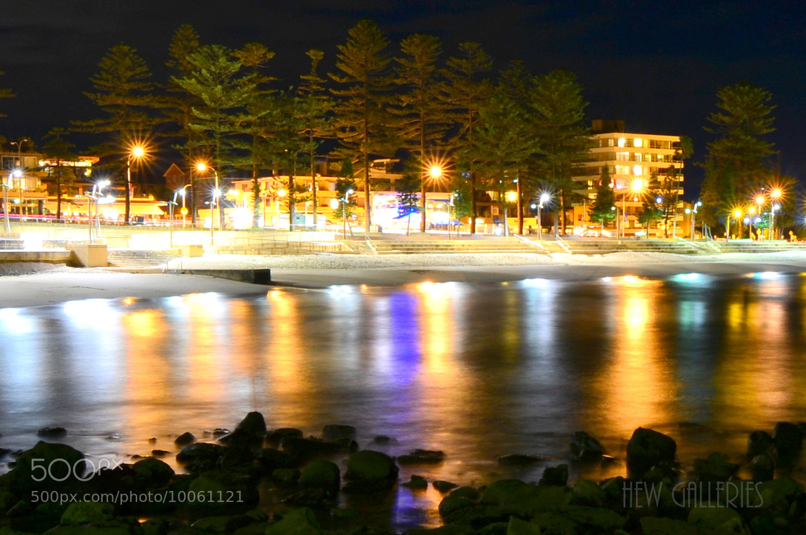 Photograph Dee Why at Night by Chye Hew on 500px