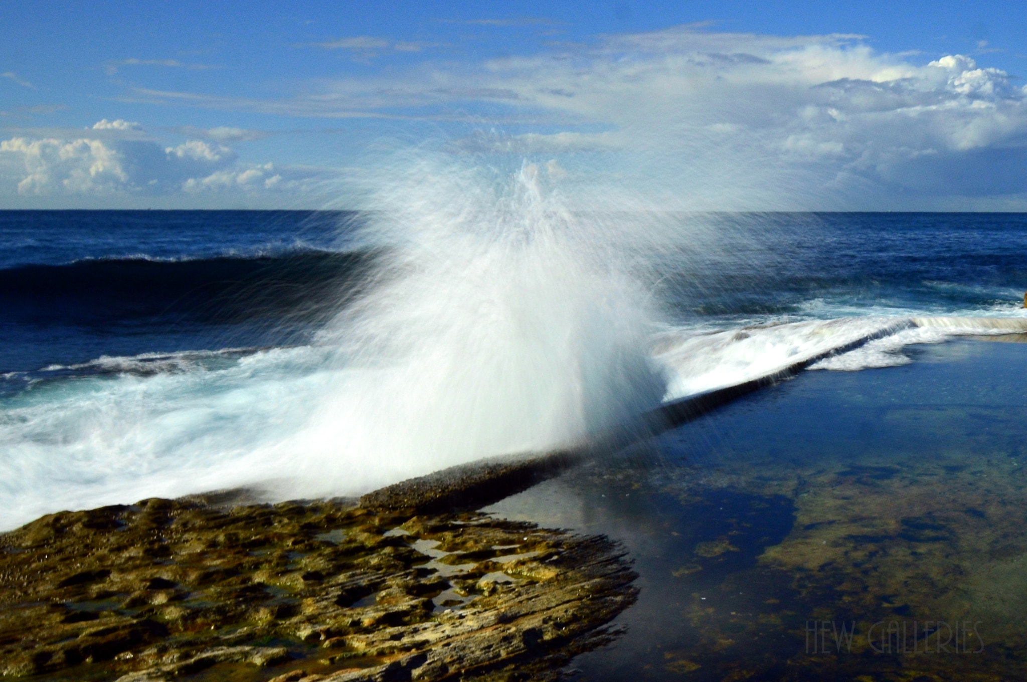 Photograph Dee Why rockpool by Chye Hew on 500px