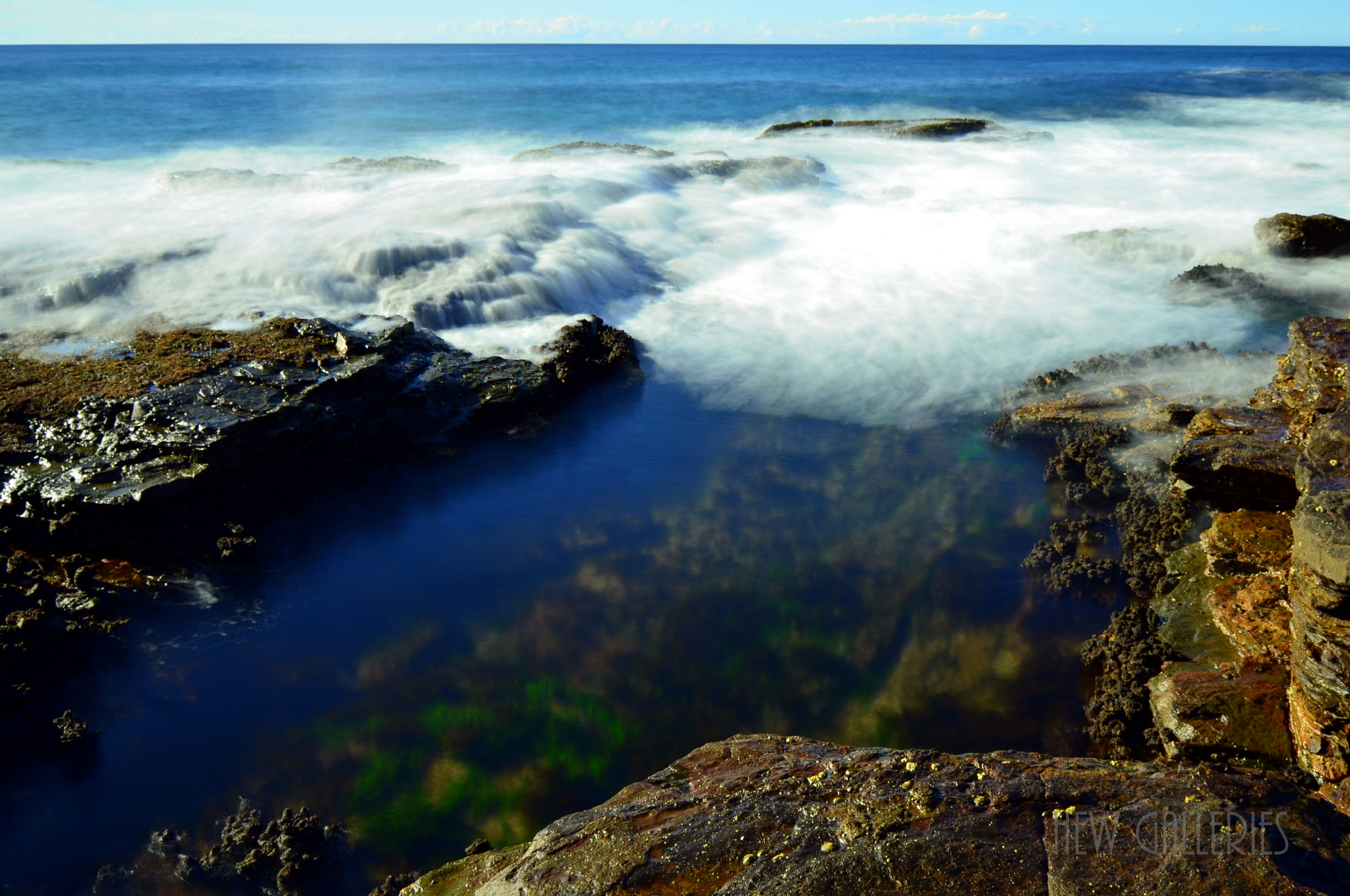 Photograph Rock Pool by Chye Hew on 500px