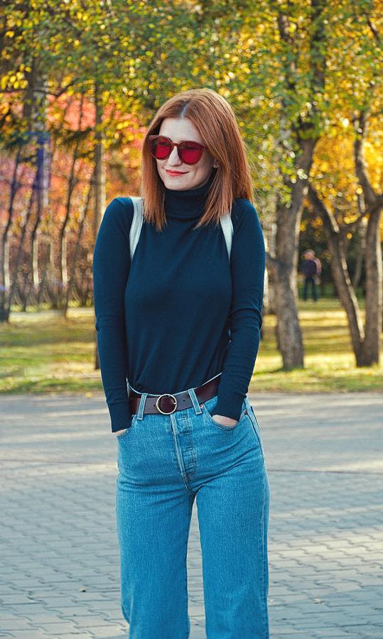 Рыженькая by Evgeniy Bruskov on 500px.com