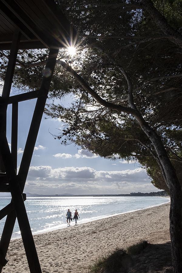 Beach walk by Ana V. on 500px.com