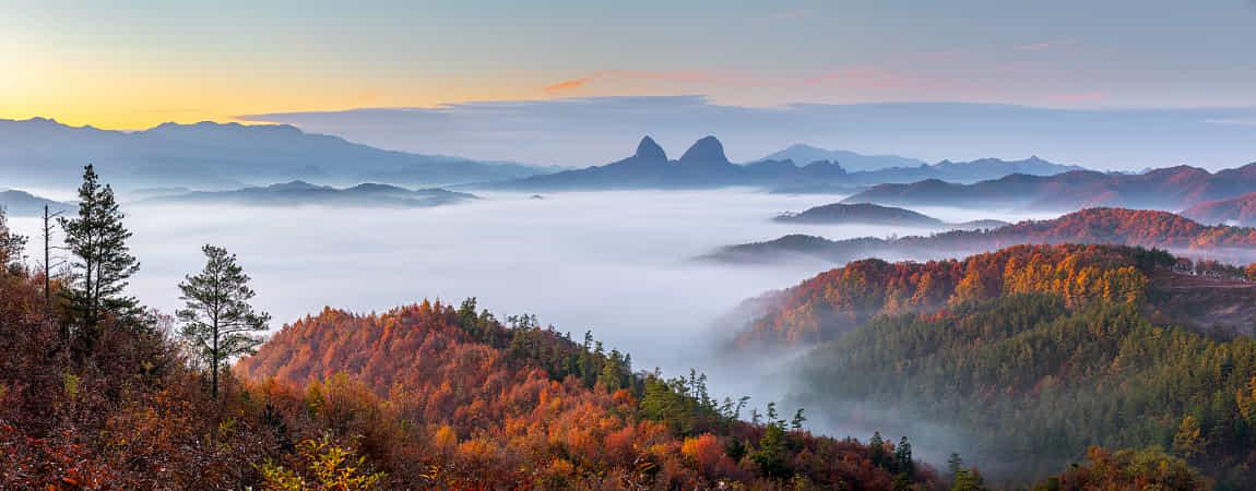 Autumn of Maisan by jae youn Ryu