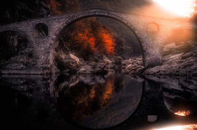 Autumn under the Bridge by Georgi Donev