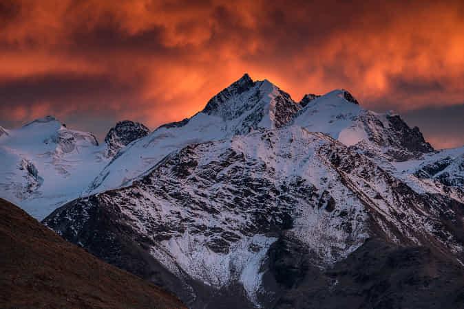 Mountain Fire by Tobias Ryser