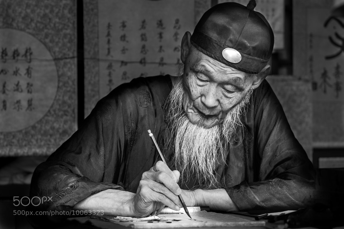 Photograph A Master at Work by Rami Niazy on 500px