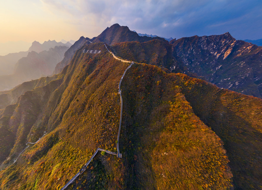 Photograph Great Wall of China by AirPano on 500px