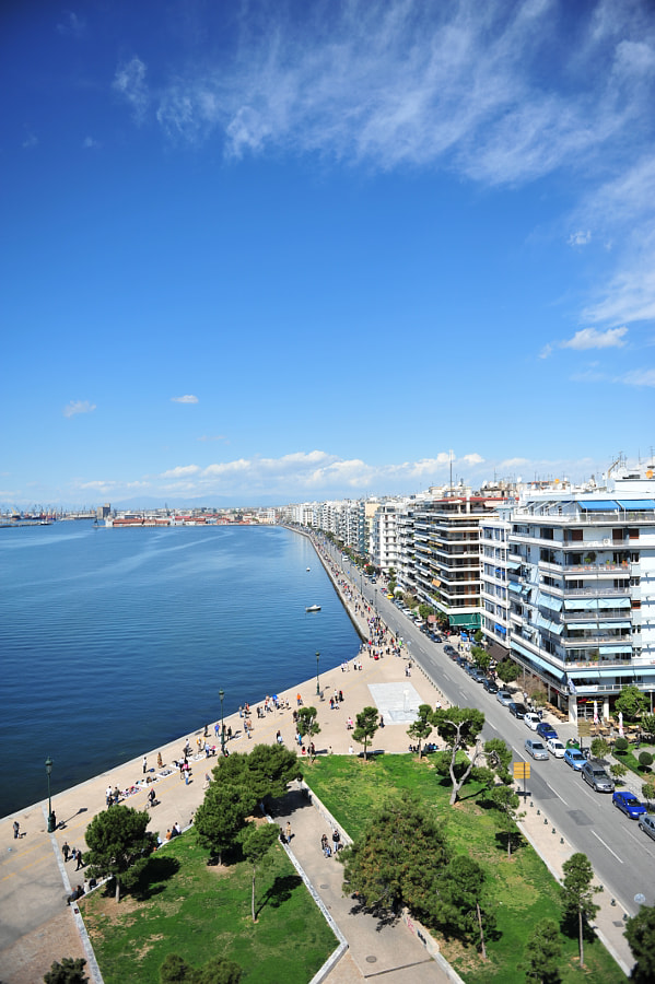 Photograph Thessaloniki sea front by Bill Souliotis on 500px