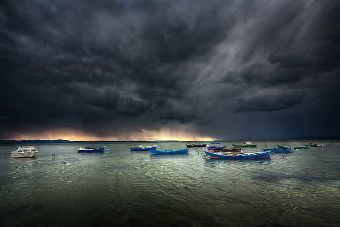 Prima della tempesta by Giorgio Raspa