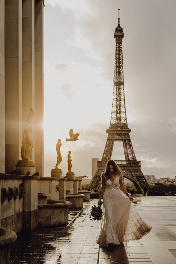 Paris with clio by Kewin Connin Jackson on 500px.com