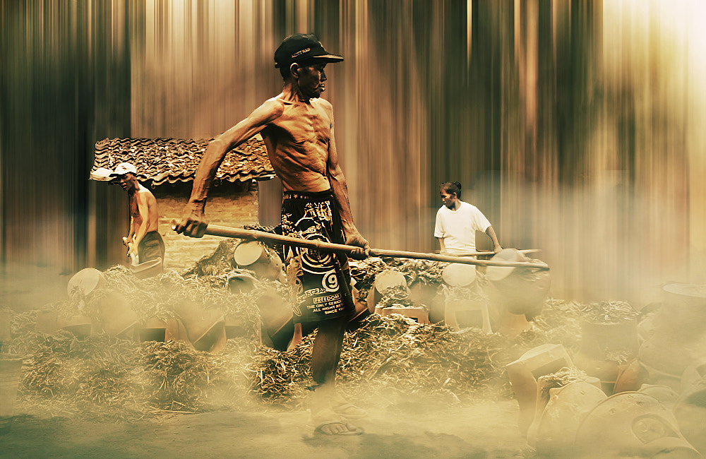 Photograph three old workers by 3 Joko on 500px