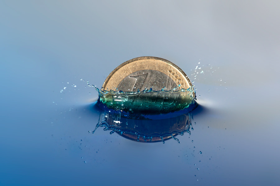 Photograph Euro is sinking by George Doupas on 500px