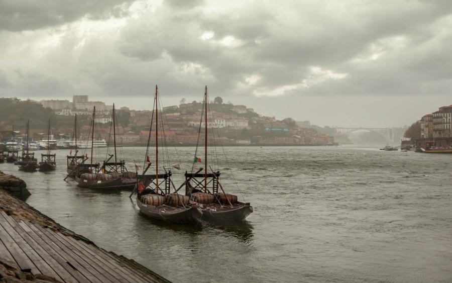 Boats in Porto by Danilo Bruschi on 500px.com