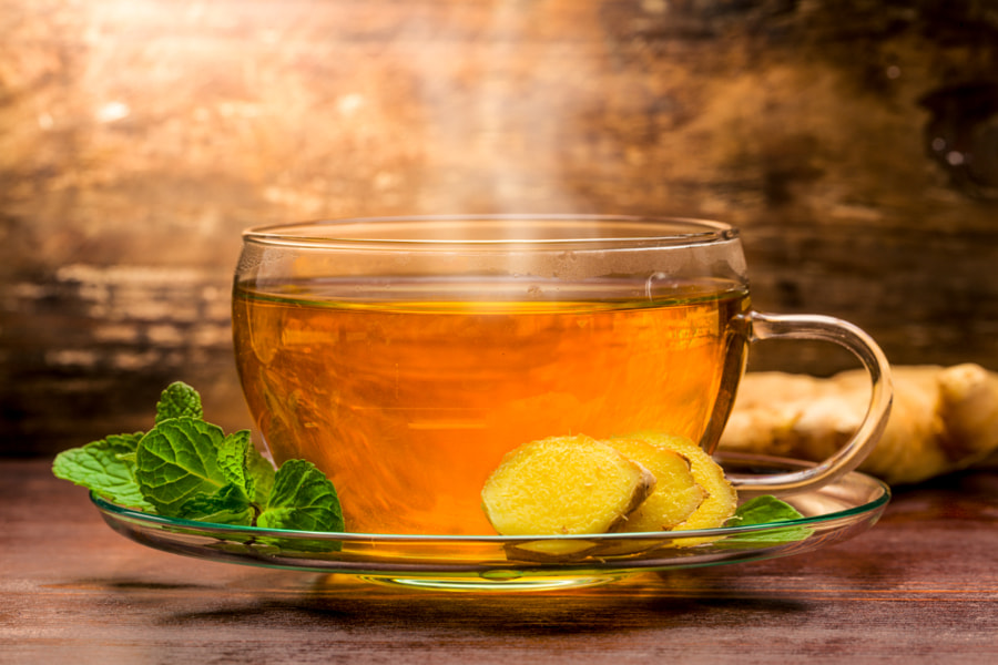 Ginger Tea by Christian Fischer on 500px.com