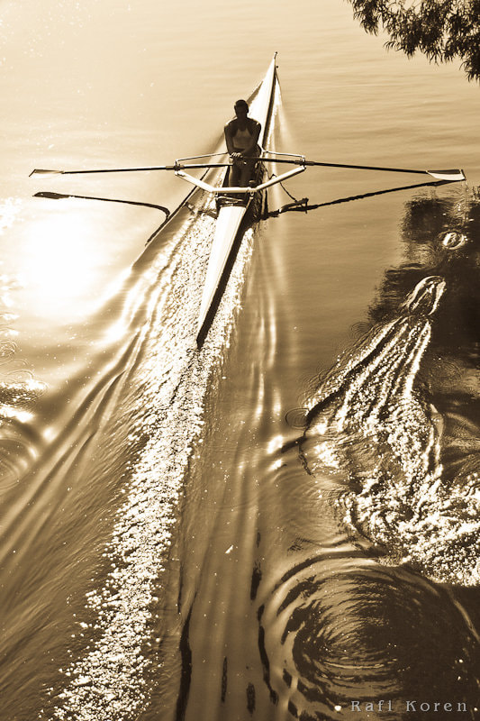 Rowing in the deep