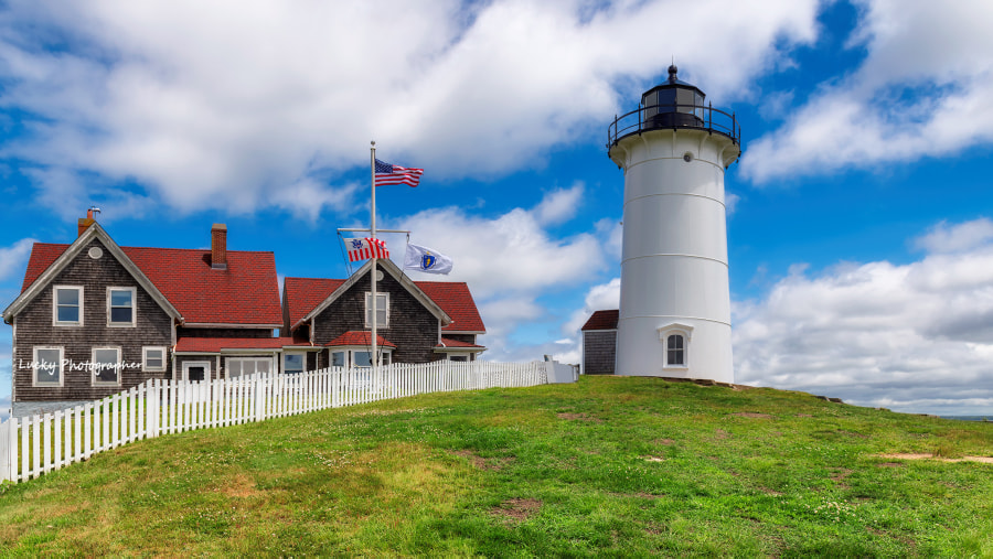 Cape Cod Lighthouse by Dmitry Vinogradov on 500px.com