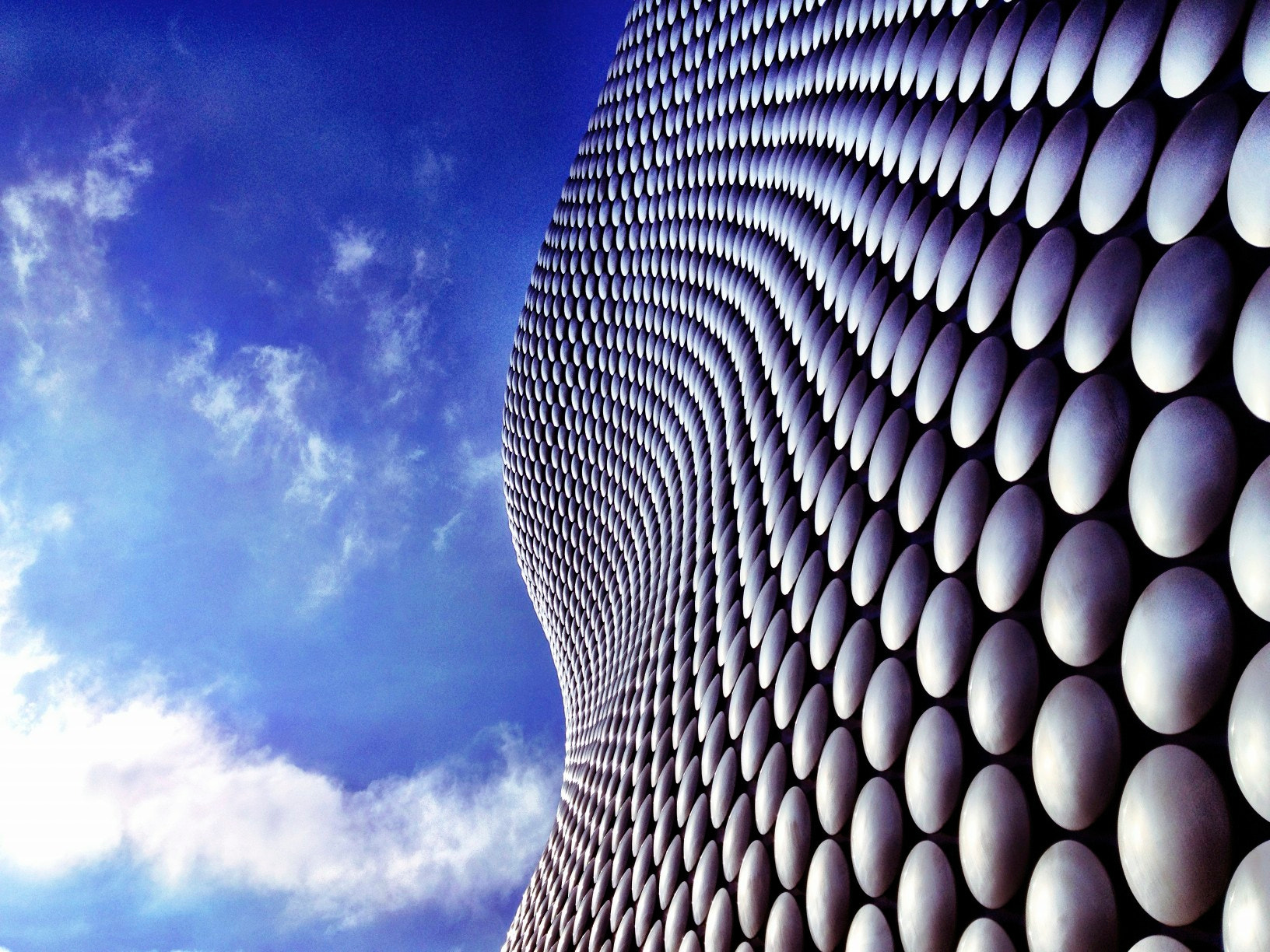 Photograph Curves, Spheres & Sky by Richard Wiggins on 500px