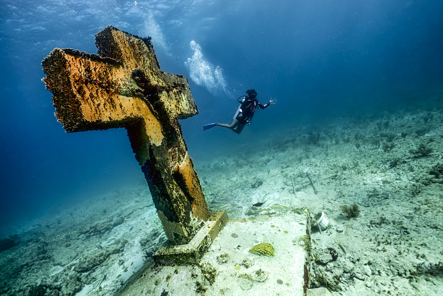 The Sunken Cross by Mike Corey on 500px.com