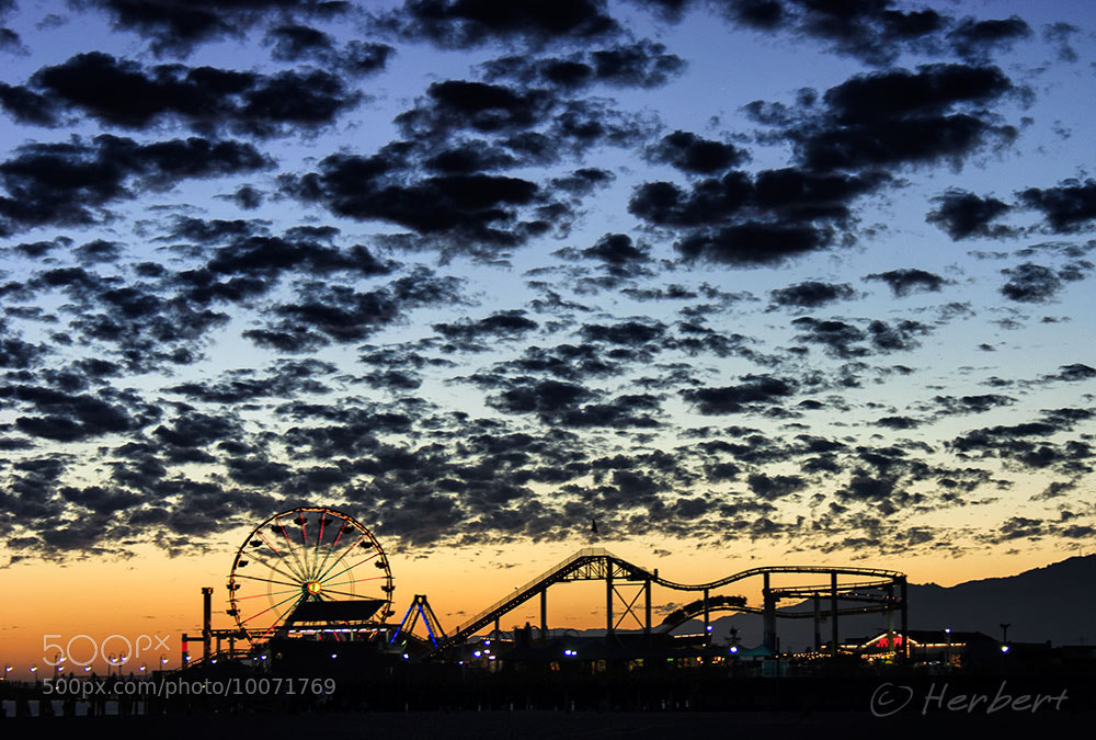 Photograph Santa Monica pier by Herbert Wong on 500px