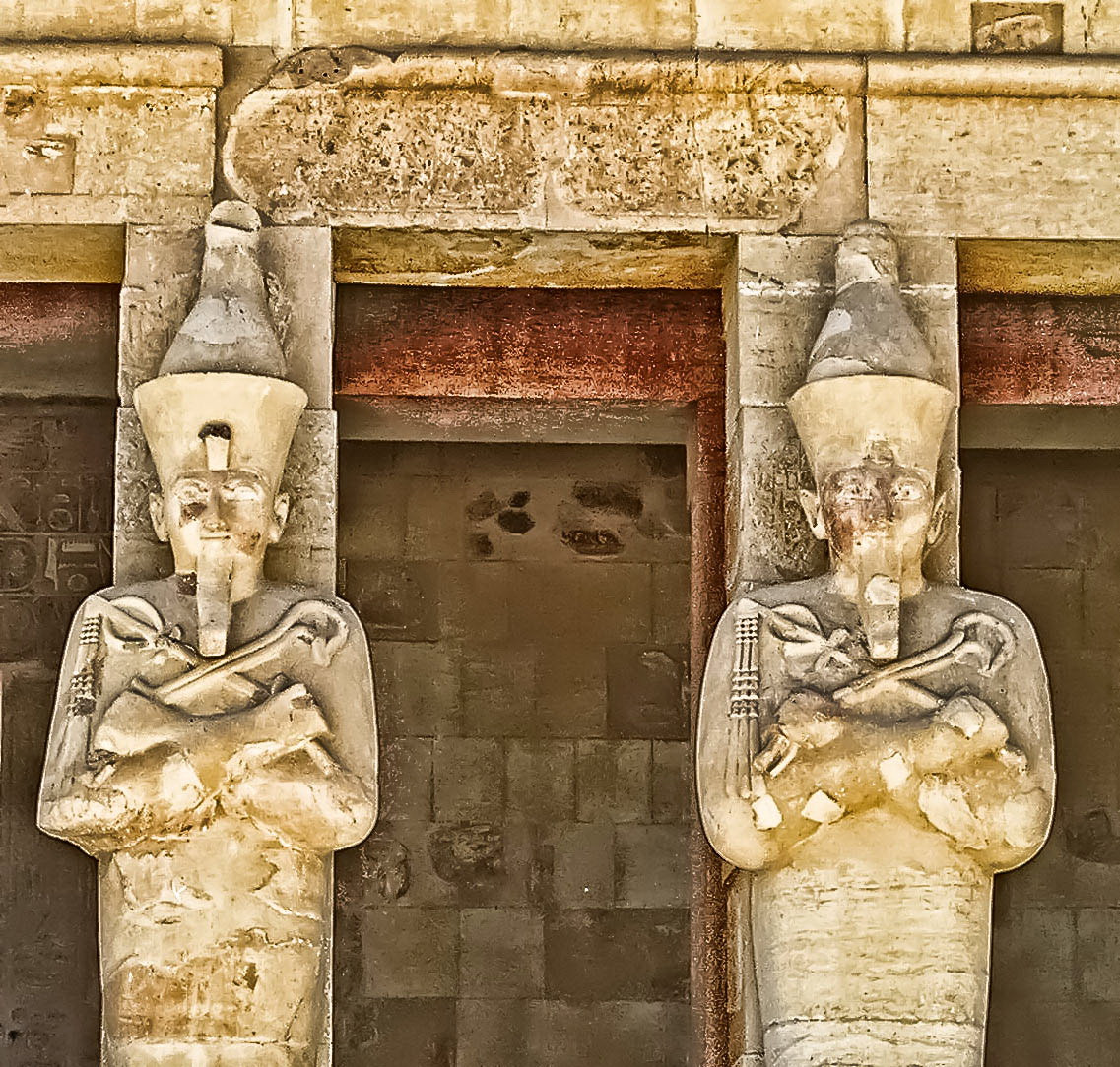 Photograph Egypt. The temple in honour of the gods Amun and Hathor in Deir El-Bahri by Galust Arabyan on 500px