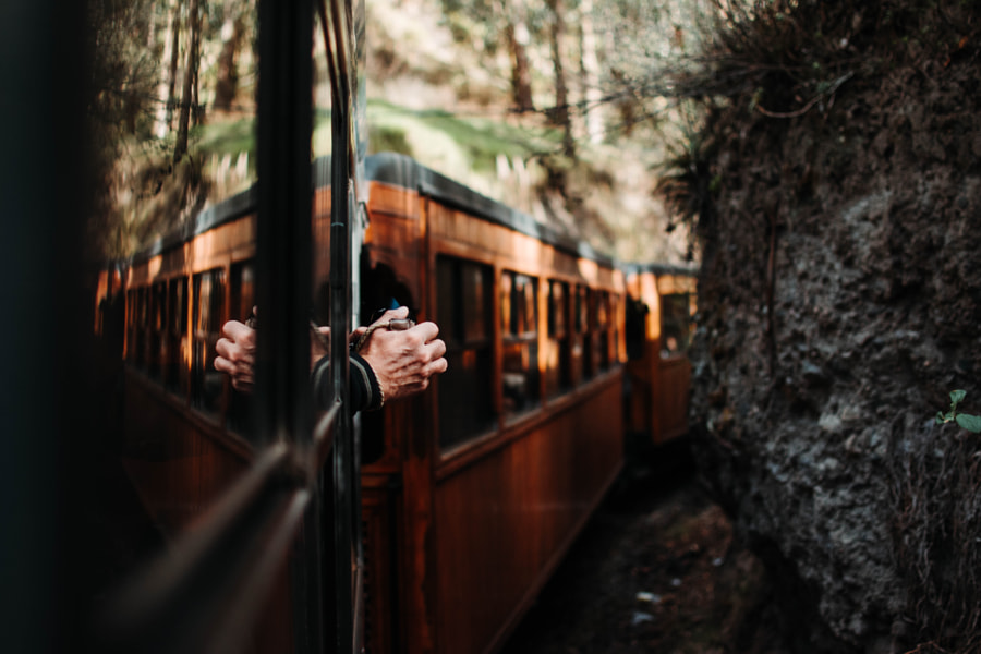 Through the train window by Andres Saa on 500px.com