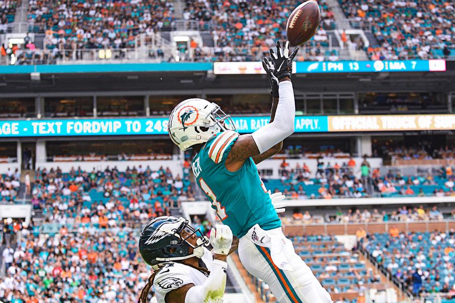 Miami Dolphins wide receiver DeVante Parker #11 by JC Ruiz on 500px.com