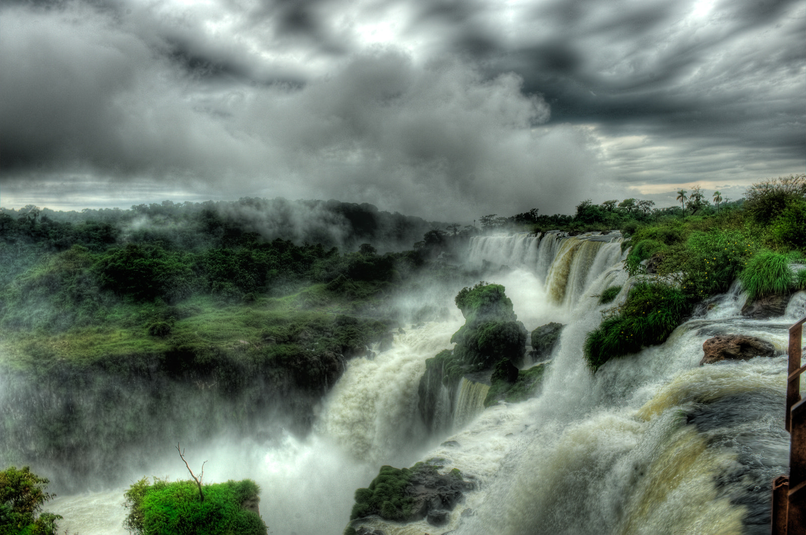 Photograph Iguassu Fall HDR by Phil Nwafor on 500px