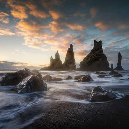 Sea stacks by wim denijs
